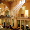 View of the interior of the Museum of Antiquities, Cairo, Egypt.